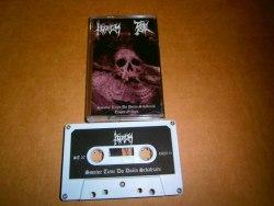 KORIUM / EVIL - Smutné Tiene Do Dolín Schádzajú / Empty Graves Tape Blackened Metal