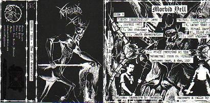 MORBID YELL - The First Desecration Tape Black Metal