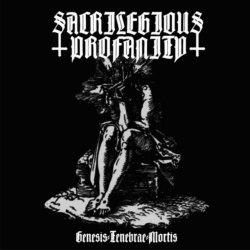 SACRILEGIOUS PROFANITY - Genesis-Tenebrae-Mortis CDr Black Metal