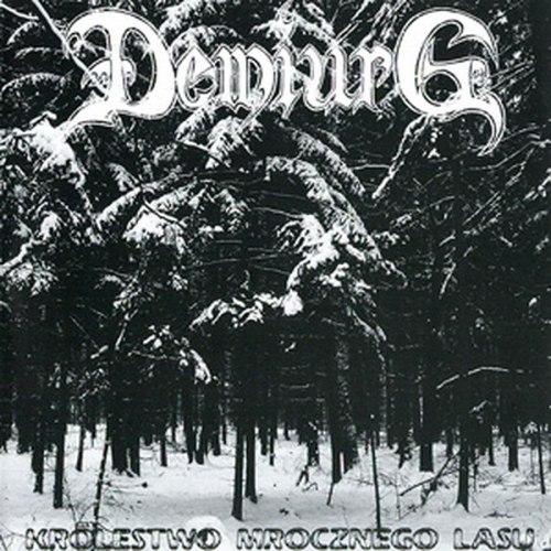 DEMIURG - Królestwo Mrocznego Lasu CD Blackened Metal
