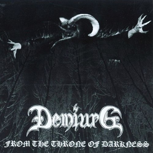 DEMIURG - From The Throne Of Darkness CD Blackened Metal