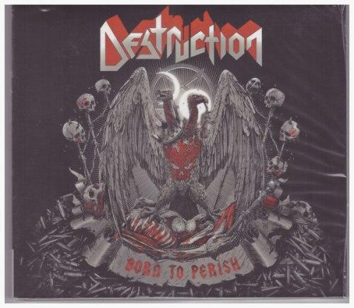 DESTRUCTION - Born to Perish Digi-CD Thrash Metal