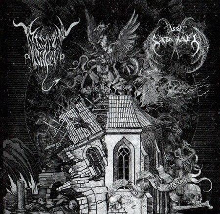 BLACK ANGEL / LORD SATANAEL - Born Of The Beast CD Black Metal