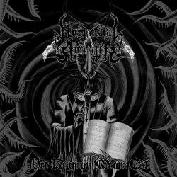 NOCTURNAL AMENTIA - Hec Regnum Meum Est CD Black Metal