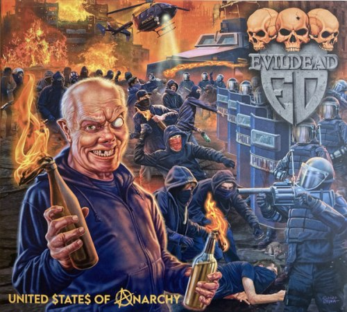 EVILDEAD - United States Of Anarchy Digi-CD Thrash Metal