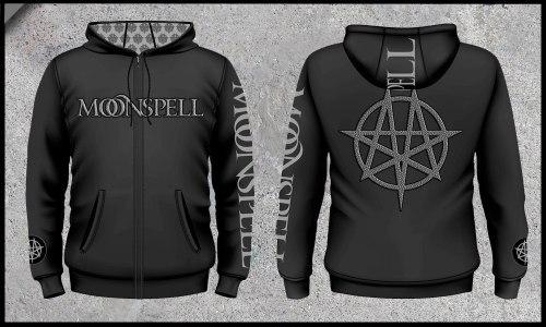 MOONSPELL - Logo зиппер Dark Metal