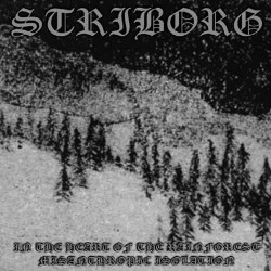STRIBORG - In The Heart Of The Rainforest / Misanthropic Isolation CD Atmospheric Metal