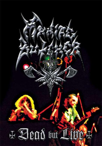 MANIAC BUTCHER - Dead But Live DVD Black Metal