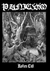 PANICVM - Rotten Cvlt CDr in DVD case Black Metal