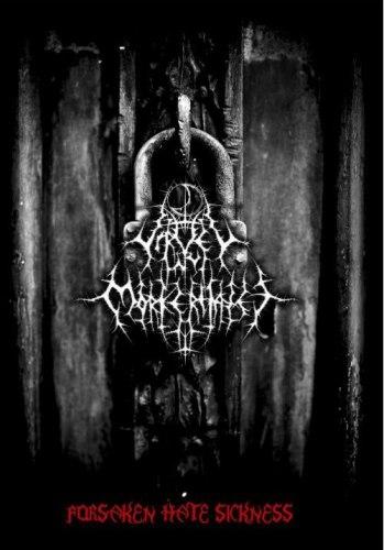 VIRVEL AV MORKETHATET - Forsaken Hate Sickness CDr in DVD case Black Metal