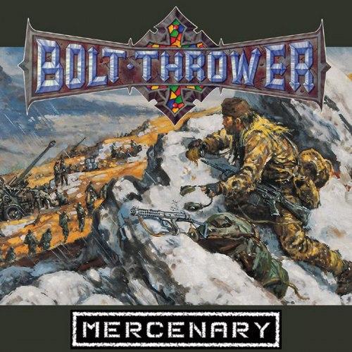 BOLT THROWER - Mercenary CD Death Metal