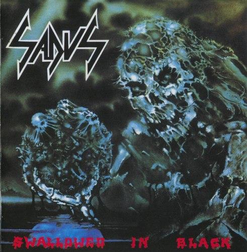 SADUS - Swallowed In Black CD Thrash Death Metal