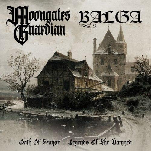 MOONGATES GUARDIAN / BALGA - Oath Of Feanor / Legends Of The Damned CD Atmospheric Metal