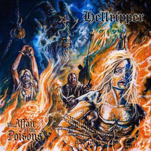 HELL RIPPER - The Affair Of The Poisons Digi-CD Blackened Speed Metal