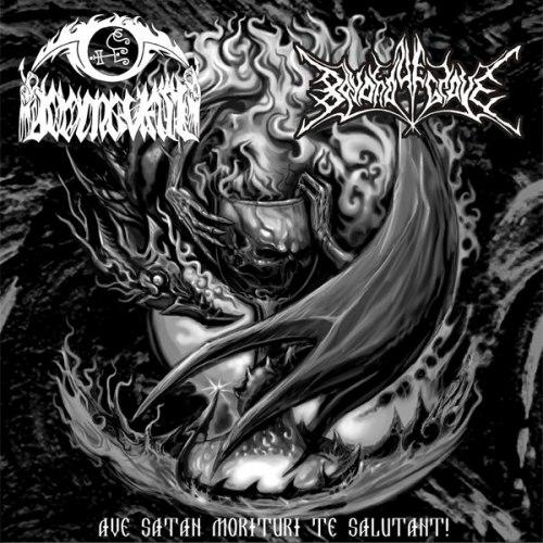 BEYOND YE GRAVE / DOOMGUARD - Ave Satan Morituri Te Salutant! CD Black Metal
