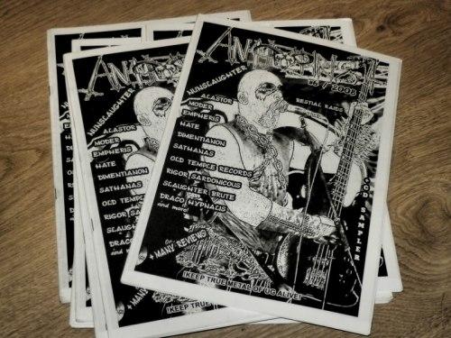 ANTICHRIST #6 Журнал Metal