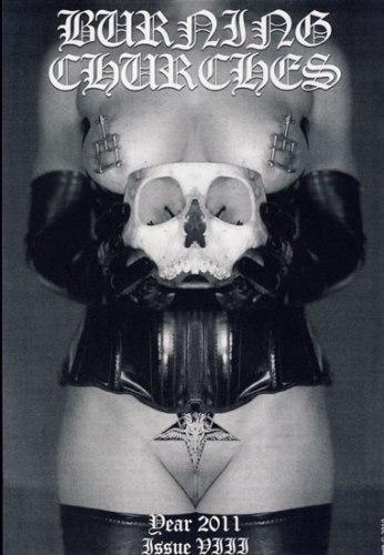 BURNING CHURCHES #8 (2011) Журнал Metal