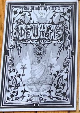 DE UMBRIS #2 Журнал Metal