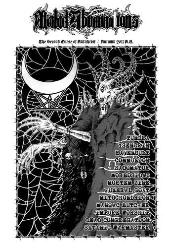 MORBID ABOMINATIONS #2 Журнал Metal