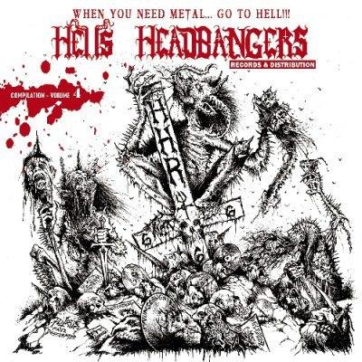 HELLS HEADBANGERS #2 Журнал Metal