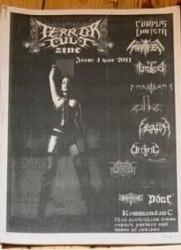 TERROR CULT #4 Журнал Metal
