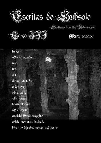 ESCRITAS DO SUBSOLO #3 Журнал Metal