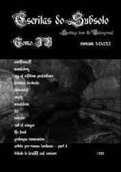 ESCRITAS DO SUBSOLO #4 Журнал Metal