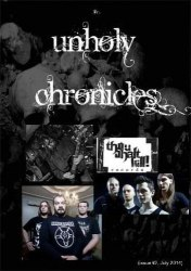 UNHOLY CHRONICLES #2 Журнал Metal