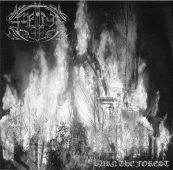"""AMNION - Burn The Forest 7""""EP Black Metal"""