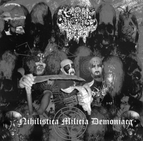 "SATANIC PROPHETS - Nihilistica Milicia Demoniaca 7""EP Black Metal"