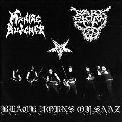 "MANIAC BUTCHER / DARK STORM - Black Horns Of Saaz 7""EP Black Metal"