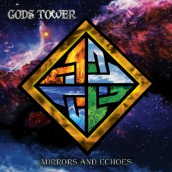 GODS TOWER - Mirrors And Echoes CD Pagan Folk Heavy Metal