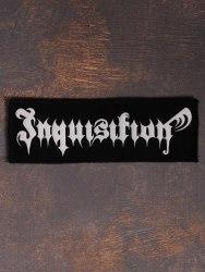 INQUISITION - Logo Нашивка Black Metal
