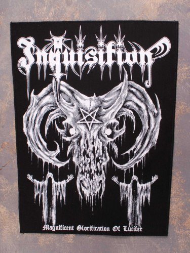 INQUISITION - Magnificent Glorification Of Lucifer нашивка на спину Black Metal