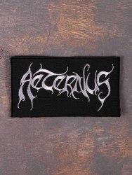 AETERNUS - Logo Нашивка Dark Metal