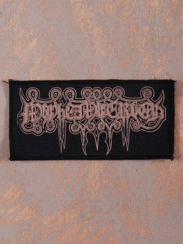 MAYHEMIC TRUTH - Beige Logo Нашивка Black Metal
