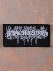 MAYHEMIC TRUTH - White Logo Нашивка Black Metal