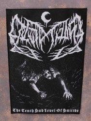 LEVIATHAN - The Tenth Sub Level Of Suicide нашивка на спину Black Metal