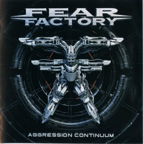 FEAR FACTORY - Aggression Continuum CD Industrial Metal