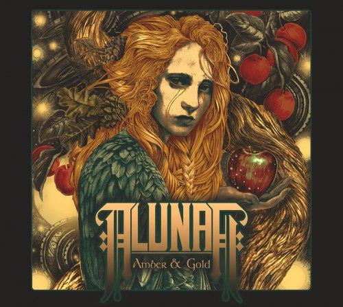 ALUNAH - Amber & Gold Digi-MCD Doom Metal