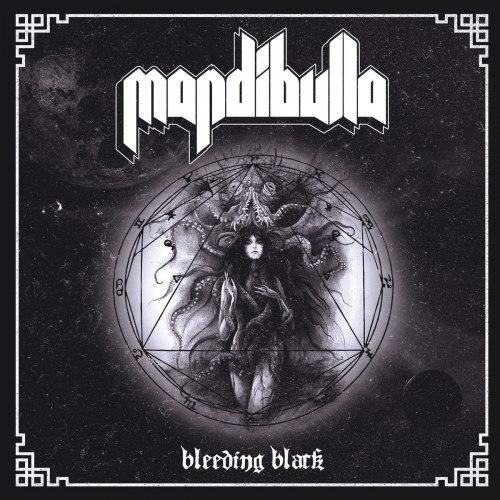 MANDIBULLA - Bleeding Black CD Heavy Doom Metal