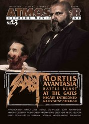 ATMOSFEAR #23 Журнал Metal