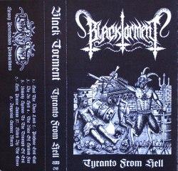BLACK TORMENT - Tyrants from Hell Tape Black Metal