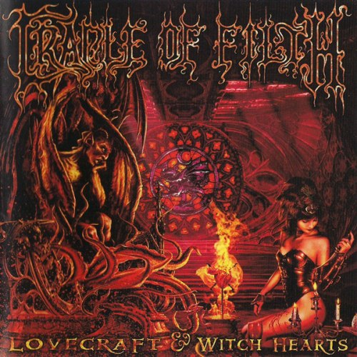 CRADLE OF FILTH - Lovecraft & Witch Hearts 2CD Symphonic Metal
