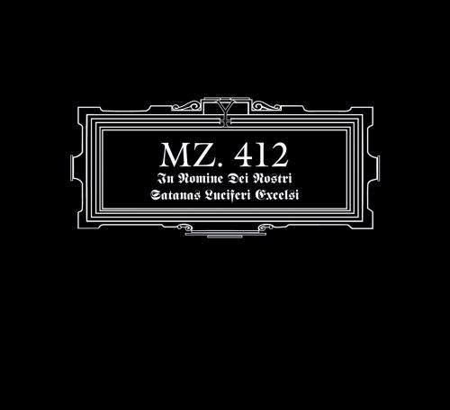 MZ.412 - In Nomine Dei Nostri Satanas Luciferi Excelsi Digi-CD Industrial