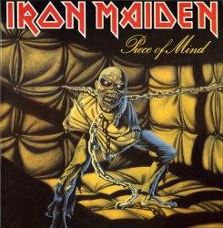 IRON MAIDEN - Piece of Mind LP Heavy Metal