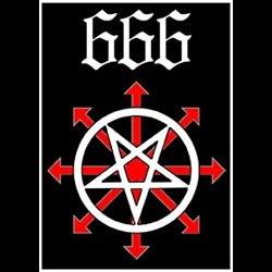 666 - Patch Нашивка Black Metal