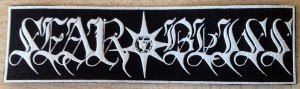 SEAR BLISS - Logo patch Нашивка Atmospheric Black Metal