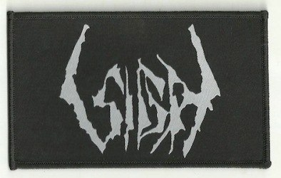 SIGH - Logo Patch Нашивка Black Metal
