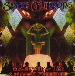 SPACE MIRRORS - Majestic-12: A Hidden Presence CD Dark Metal